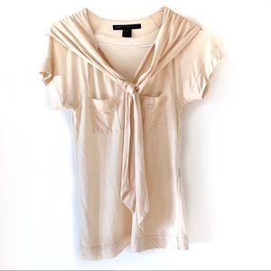 Marc Jacobs Draped Tie Tee Small